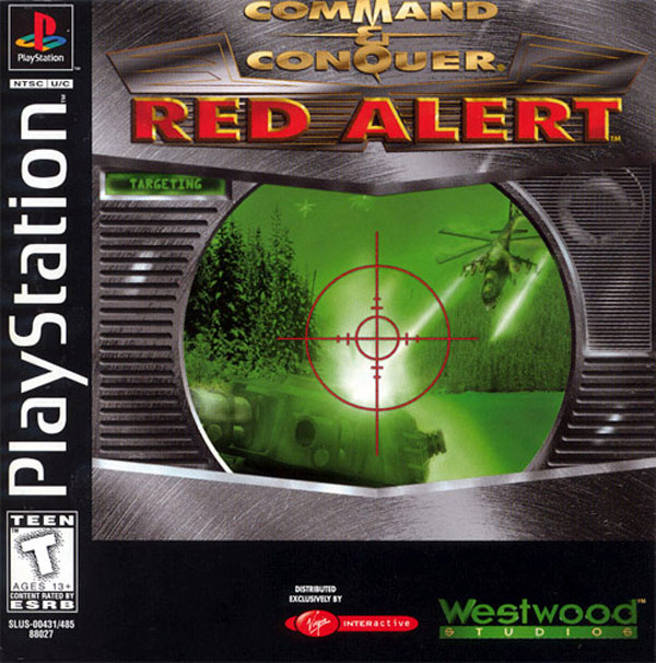 Command & Conquer - Red Alert Front Cover
